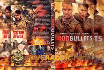 400 Bullets 2021 DVD Cover
