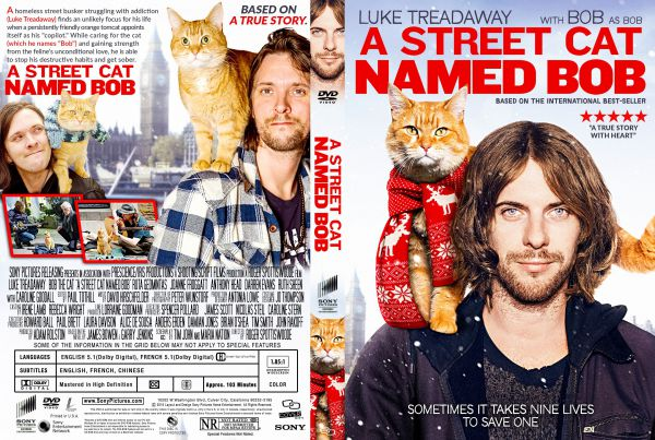 A Street Cat Named Bob (2016) Free DVD Cover