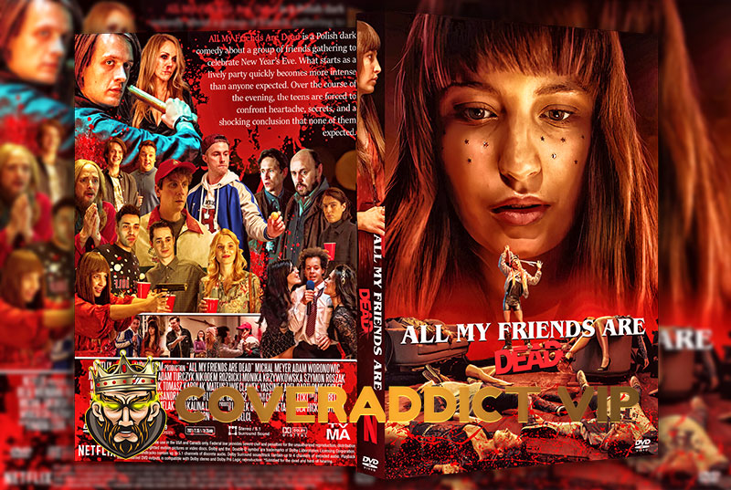 All My Friends Are Dead (2020) DVD Cover
