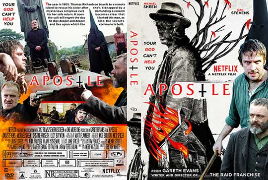Apostle (2018) Free DVD Cover