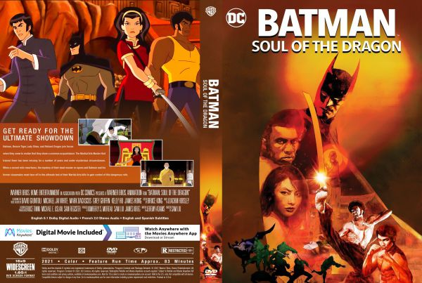 Batman: Soul of the Dragon (2021) Free DVD Cover