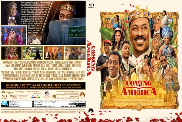 Coming 2 America (2021) Free Bluray Cover