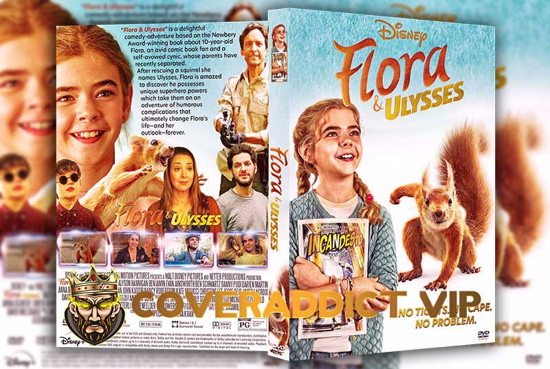 Flora And Ulysses 2021 DVD Cover