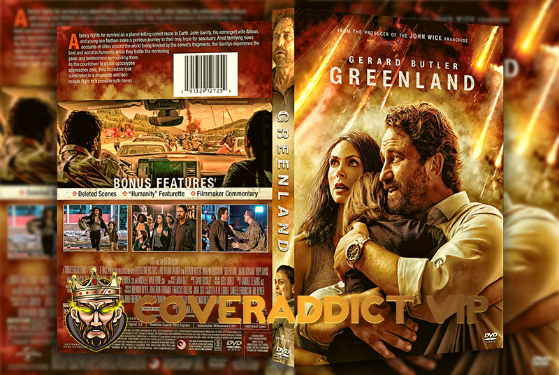 Greenland 2020 DVD Cover