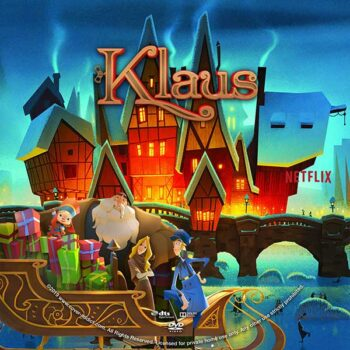 Klaus (2019) DVD Custom Label