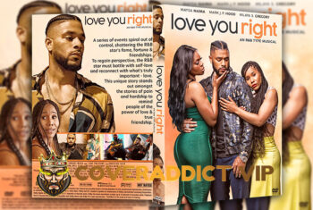 Love You Right An R and B Musical 2021 DVD Cover