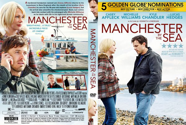 Manchester by the Sea (2016) Free DVD Cover