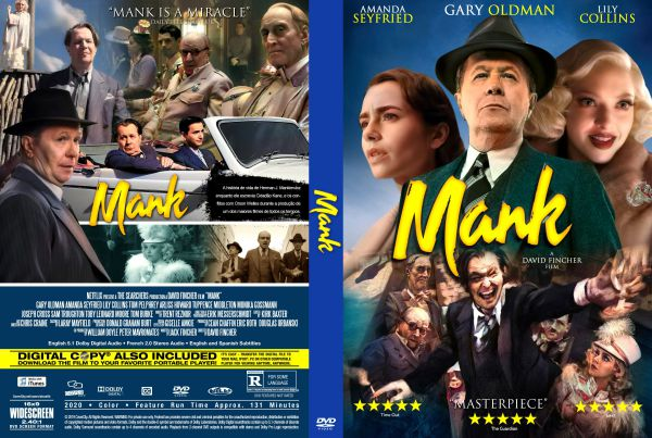 Mank (2020) Free DVD Cover Movie Summary