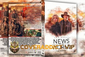 News of the World (2020) DVD Cover