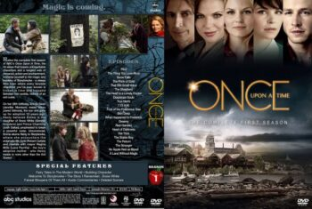 Once Upon a Time Season 1 Free DVD Cover
