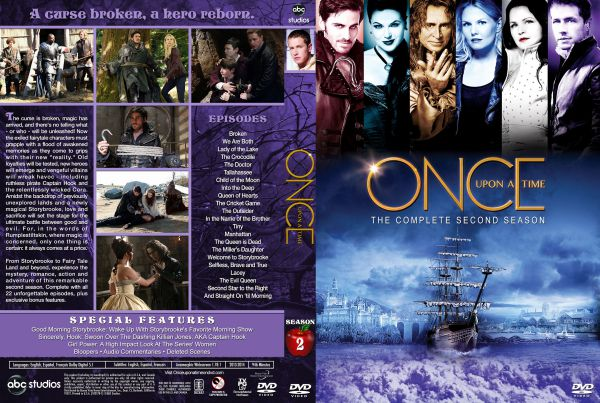 Once Upon a Time Season 2 Free DVD Cover