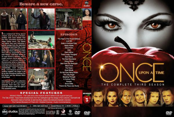 Once Upon a Time Season 3 Free DVD Cover