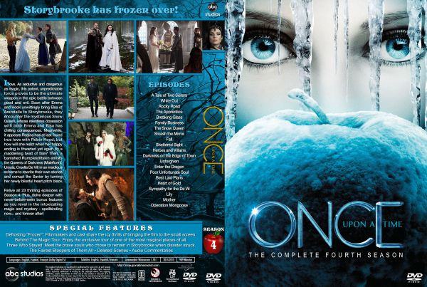 Once Upon a Time Season 4 Free DVD Cover