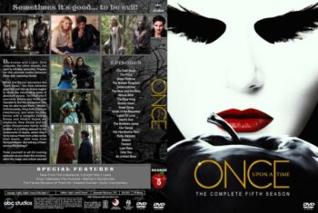 Once Upon a Time Season 5 Free DVD Cover