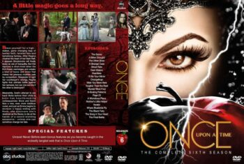 Once Upon a Time Season 6 Free DVD Cover