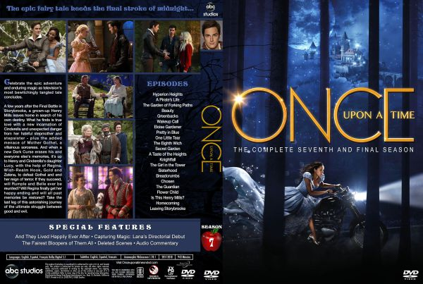Once Upon a Time Season 7 Free DVD Cover