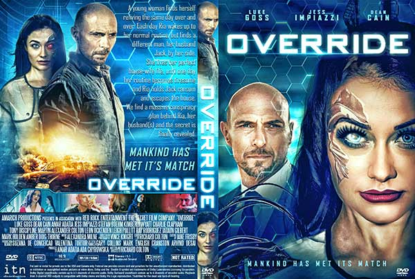 Override (2021) DVD Cover