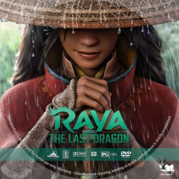 Raya and the Last Dragon (2021) DVD Free Label