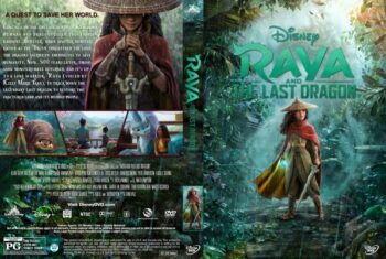 Raya and the Last Dragon (2021) Free DVD Cover