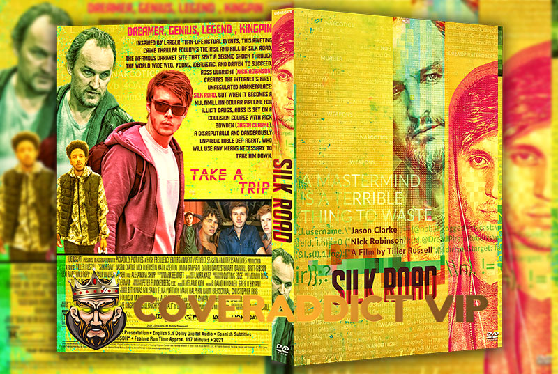 Silk Road (2021) DVD Cover