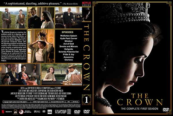 The Crown Season 1 Free DVD Cover