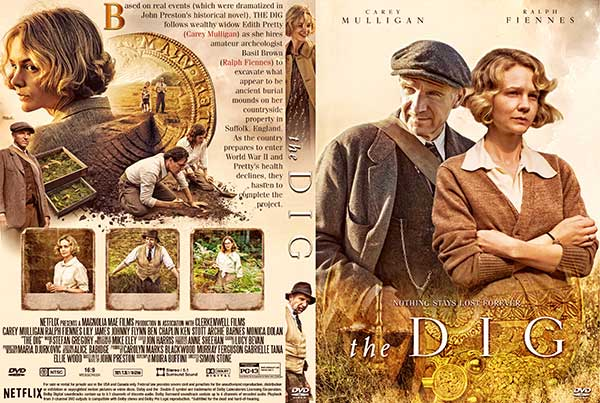 The Dig (2021) DVD Cover