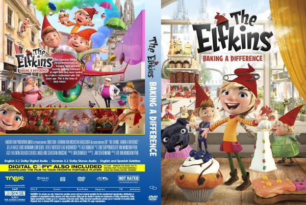 The Elfkins (2019) Free DVD Cover