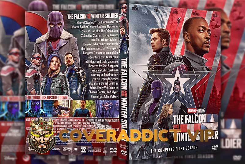 The Falcon and the Winter Soldier Season 1 DVD Cover