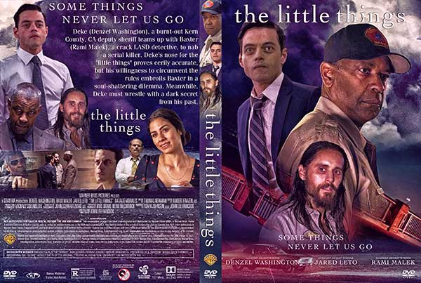 The Little Things (2021) DVD Cover