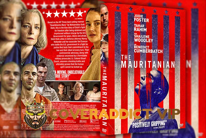 The Mauritanian 2021 DVD Cover