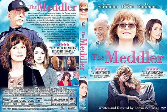 The Meddler (2015) Free DVD Cover