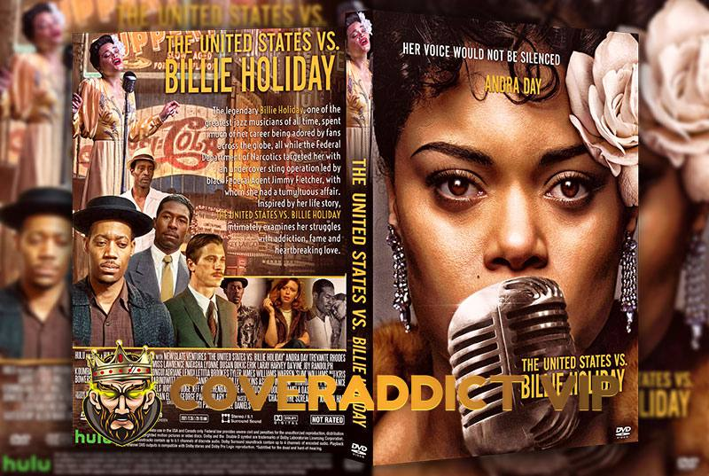 The United States vs Billie Holiday 2021 DVD Cover