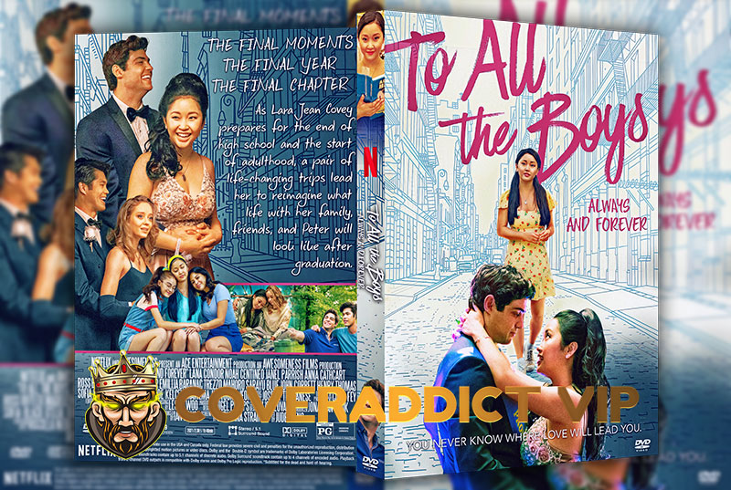 To All the Boys: Always and Forever (2021) DVD Cover