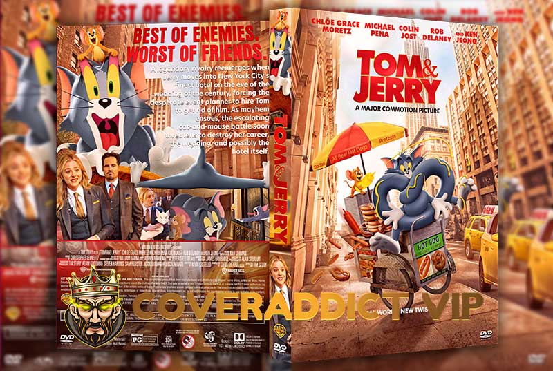 Tom and Jerry 2021 DVD Cover