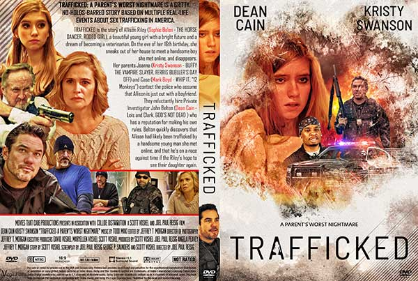 Trafficked (2021) DVD Cover