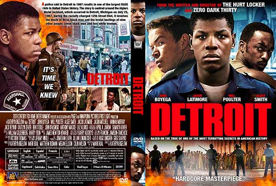 Detroit (2017) Free DVD Cover