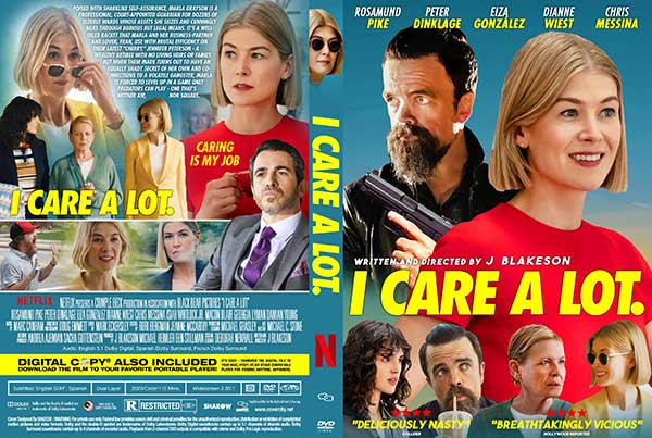 I Care A Lot 2021 Free DVD Cover