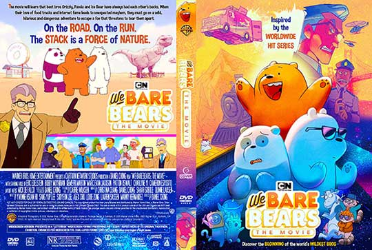We Bare Bears: The Movie (2020) Free DVD Cover