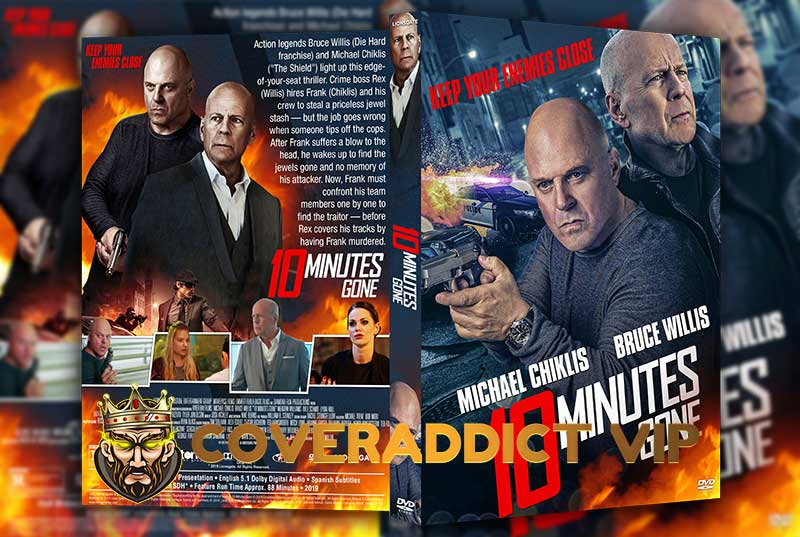 10 Minutes Gone 2019 DVD Cover