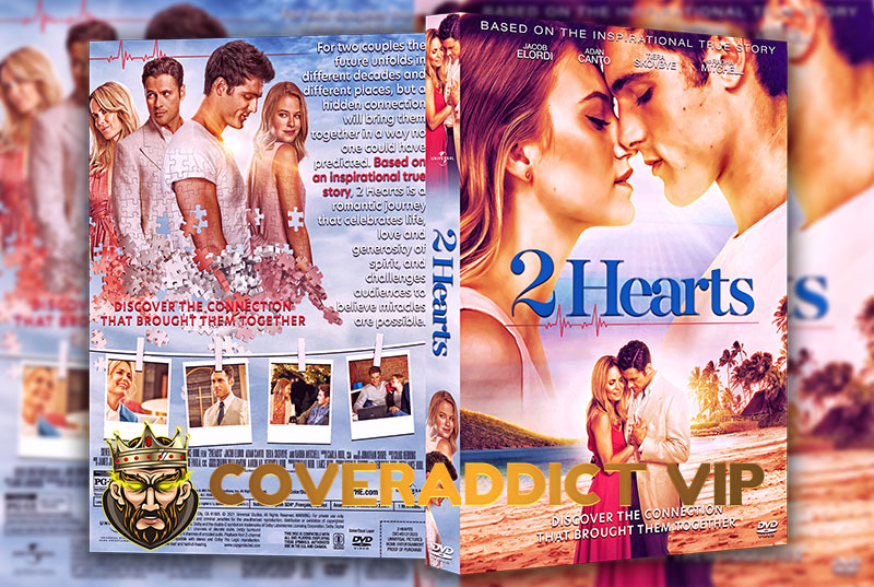 2 Hearts 2020 DVD Cover
