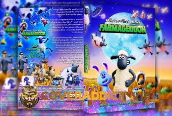 A Shaun the Sheep Movie Farmageddon 2019 DVD Cover
