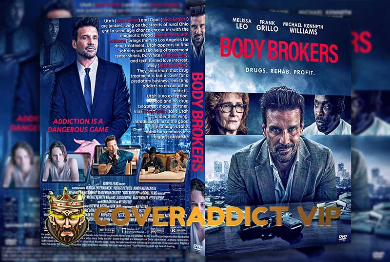 Body Brokers 2021 DVD Cover