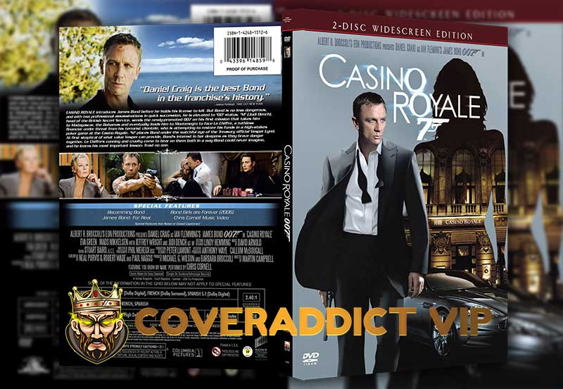 Casino Royale 2006 DVD Cover and Synopsis