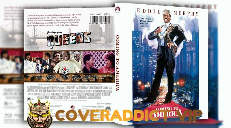 Coming to America 1988 Bluray Cover