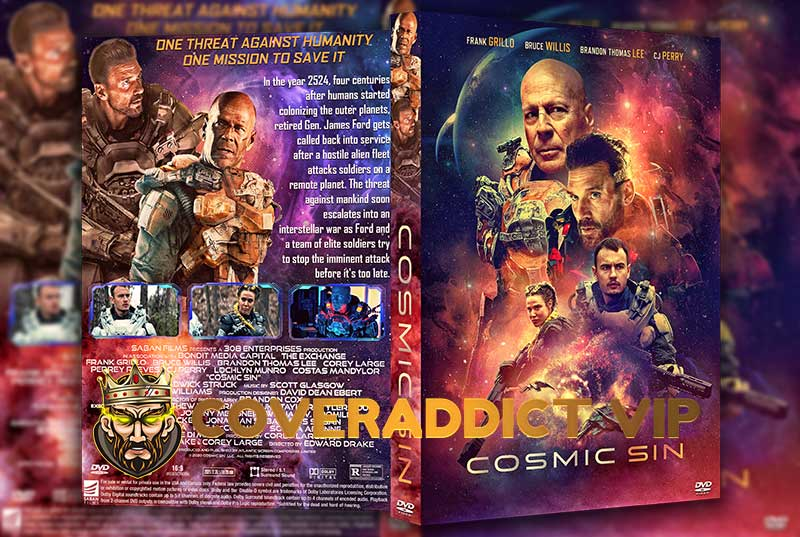 Cosmic Sin 2021 DVD Cover