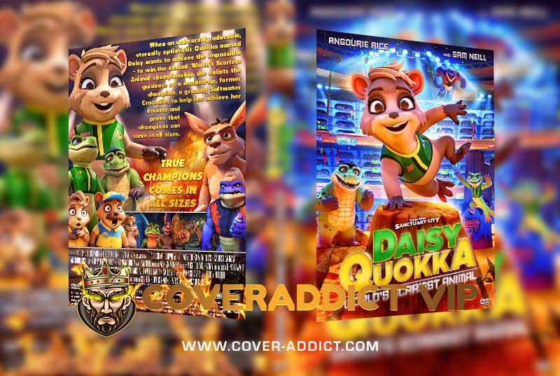 Daisy Quokka Worlds Scariest Animal 2020 DVD Cover