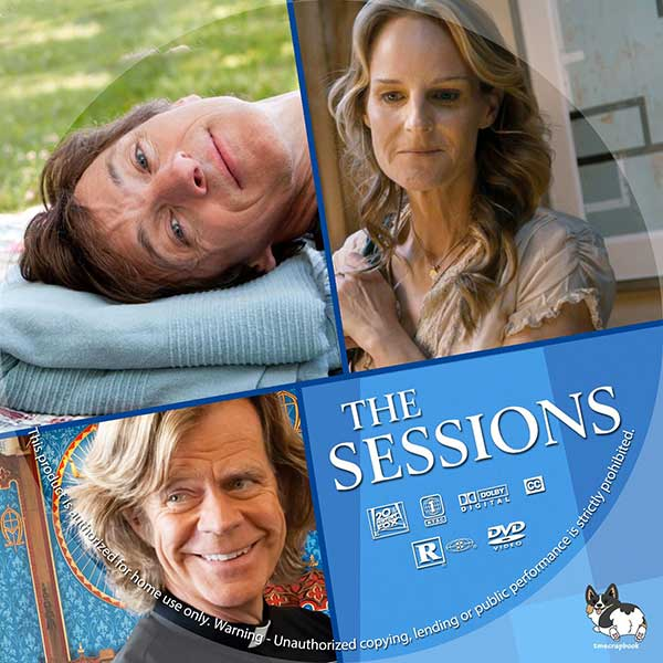 The Sessions (2012) DVD Label