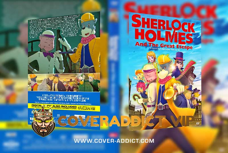Sherlock Holmes and the Great Escape 2021 DVD Cover