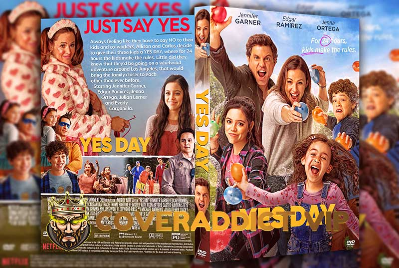 Yes Day 2021 DVD Cover