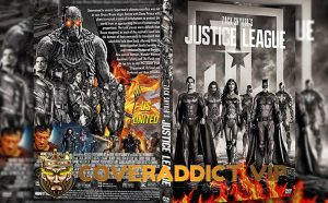 Zack Snyders Justice League 2021 DVD Cover